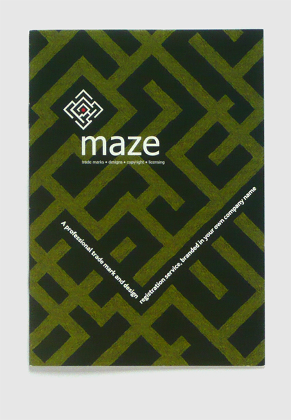 Branding, design & art direction for Maze by Nick McKay, cover